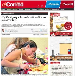 Noticia El Correo de Andalucía